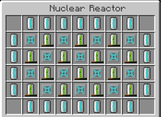 как сделать в майнкрафте ядерный реактор #9